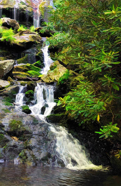 Photograph - Catawba Falls North Carolina by Ginger Wakem