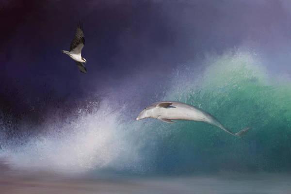 Intelligent Photograph - Catch A Wave by Kim Hojnacki
