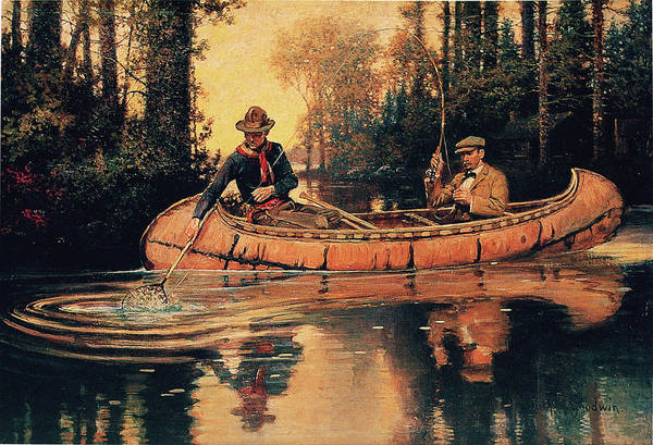 Painting - Catch Of The Day by Philip R Goodwin
