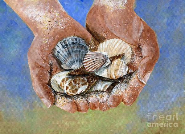 Wall Art - Painting - Catch Of The Day by Sheryl Heatherly Hawkins