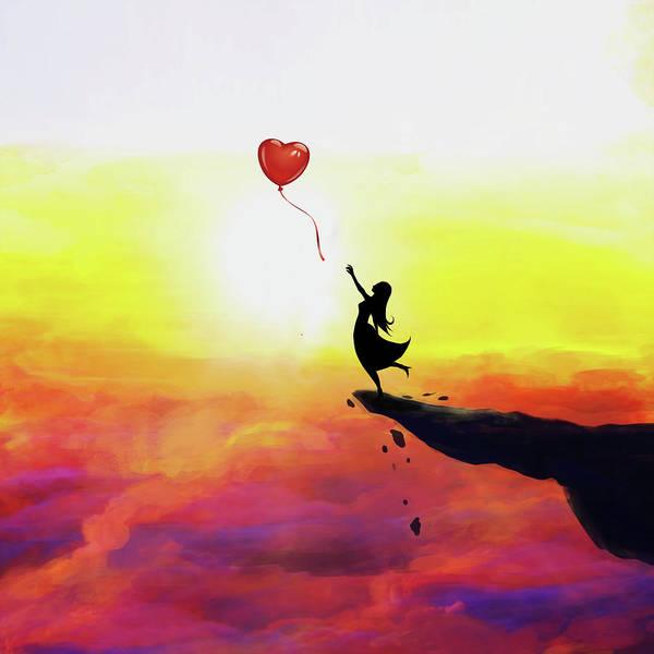 Skellington Painting - Catching Love  by Dedi Kurniadi