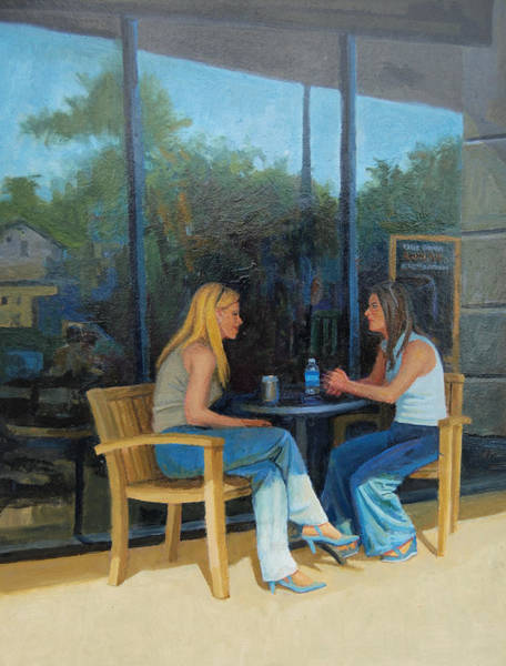 Painting - Catching Up by Mel Greifinger