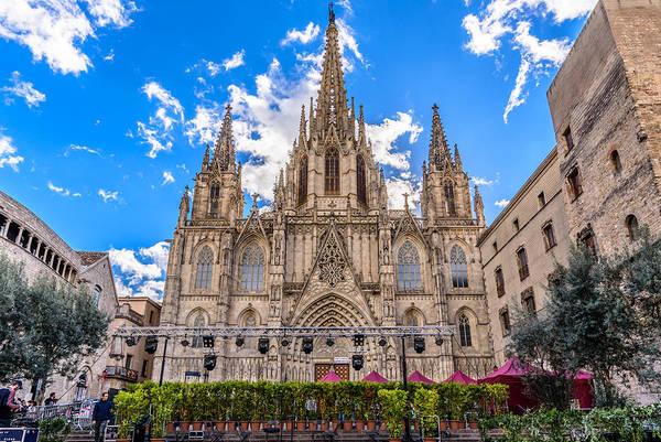 Photograph - Catedral De Barcelona by Randy Scherkenbach