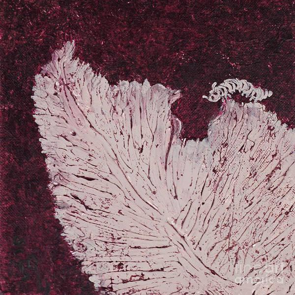 Wall Art - Painting - Caterpillar by Aneta  Berghane