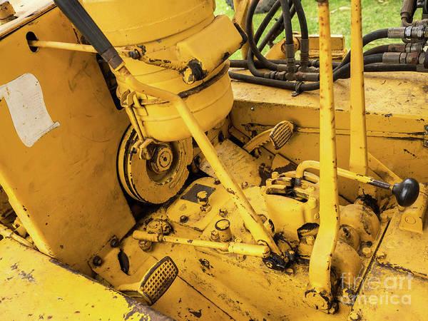 Dozer Photograph - Caterpillar D2 Bulldozer 07 by Rick Piper Photography