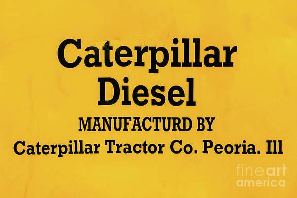 Dozer Photograph - Caterpillar D2 Bulldozer 08 by Rick Piper Photography