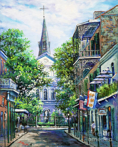 Cathedral Painting - Cathedral At Orleans by Dianne Parks