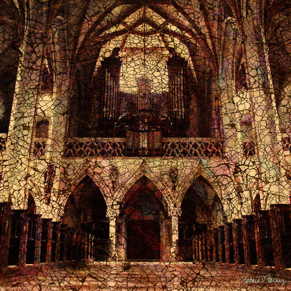 Digital Art - Cathedral by Barbara Berney