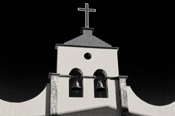 Ensenada Photograph - Cathedral Bell Tower by Claude LeTien