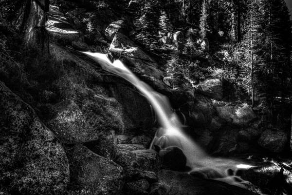 Cathedral Falls From The Tioga Pass Road Art Print