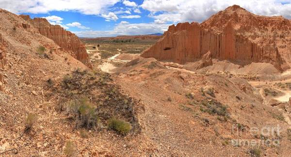 Photograph - Cathedral Gorge Bentonite Towers by Adam Jewell