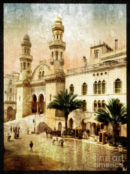 Photograph - Cathedral In Algiers - Remastered by Carlos Diaz