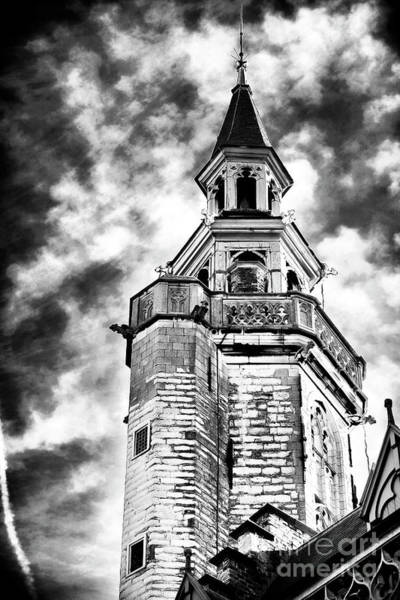 Wall Art - Photograph - Cathedral In Bruges by John Rizzuto