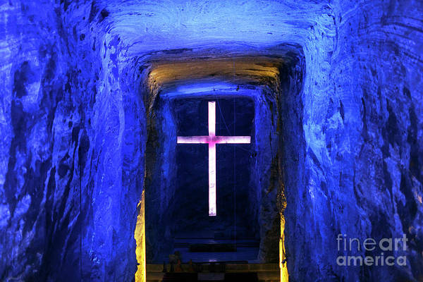 Photograph - Cathedral In The Salt Mine by John Rizzuto
