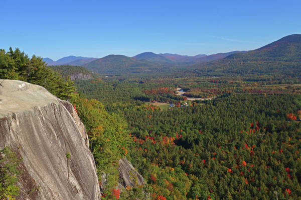 Photograph - Cathedral Ledge Autumn Conway Nh New Hampshire Ledge by Toby McGuire