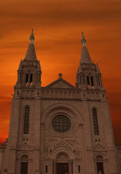 Wall Art - Photograph - Cathedral Of Saint Joseph Sioux Falls by Art Spectrum