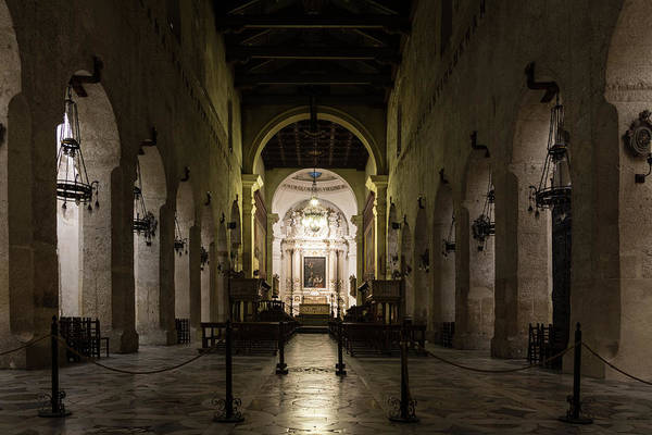 Photograph - Cathedral Of Syracuse - Duomo Di Siracusa - An Ancient 2500 Years Old Greek Temple by Georgia Mizuleva