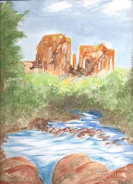 Painting - Cathedral Rock 2,  Sedona, Az. by Reed Novotny