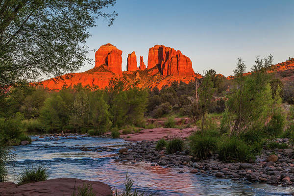 Photograph - Cathedral Rock At Red Rock Crossing by Lon Dittrick