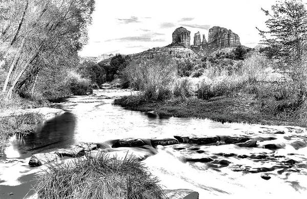 Photograph - Cathedral Rock by Bruce Bonnett