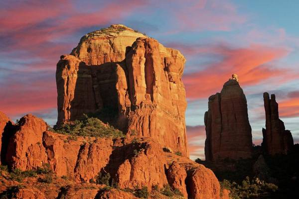 Photograph - Cathedral Rock And Spires, Sedona, Arizona by Flying Z Photography by Zayne Diamond