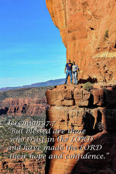 Wall Art - Photograph - Cathedral Rock, Jeremiah 17.7 by Tom Clark