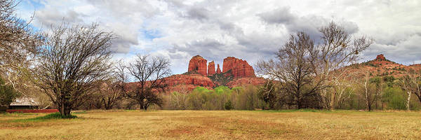 Photograph - Cathedral Rock Panorama by James Eddy
