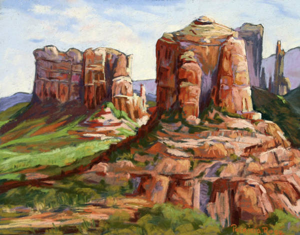 Plein Air Photograph - Cathedral Rock Vista by Patricia Rose Ford