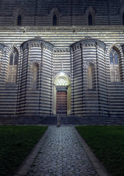 Photograph - Cathedral Side Door Orvieto Italy by Joan Carroll