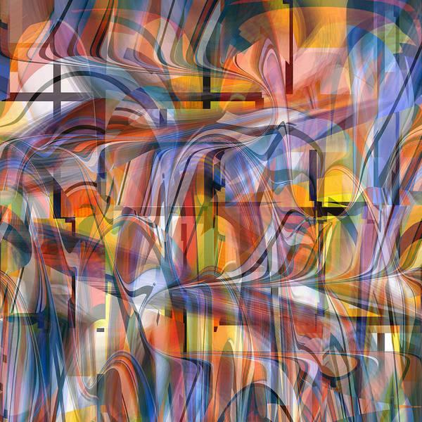Digital Art - Cathedral Spirits - U046 by rd Erickson