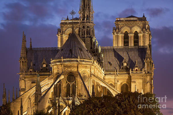Photograph - Cathedrale Notre Dame by Brian Jannsen