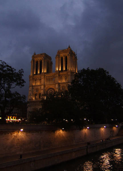 Photograph - Cathedral Notre Dame In Paris France by Ginger Wakem