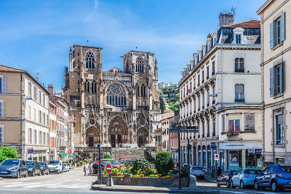 Wall Art - Photograph - Cathedrale Saint-maurice by W Chris Fooshee