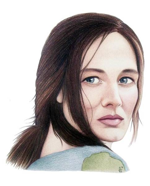 Drawing - Catherine Mccormack  by Danielle R T Haney