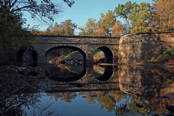 Chesapeake And Ohio Wall Art - Photograph - Catoctin Creek Aqueduct by Ben Prepelka
