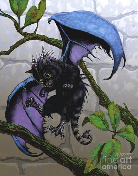 Dragon Digital Art - Catragon by Stanley Morrison
