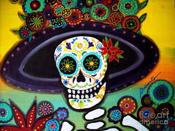 Wall Art - Painting - Catrina by Pristine Cartera Turkus