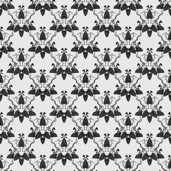 Digital Art - Cats And Catnip Pattern by MM Anderson