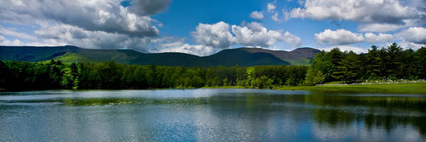 Catskills Photograph - Catskill Mountain Panorama by Louis Dallara