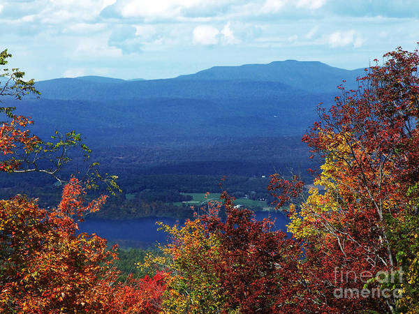 Photograph - Catskill Mountains Photograph by Kristen Fox