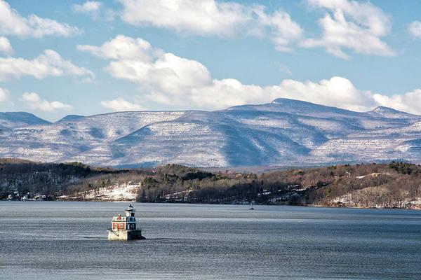 Photograph - Catskill Mountains With Lighthouse by Nancy De Flon