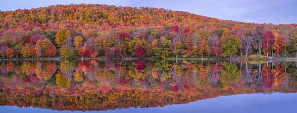 Catskills Photograph - Catskill Panorama 2 by Mark Papke