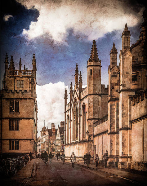 Photograph - Oxford, England - Catte Street by Mark Forte