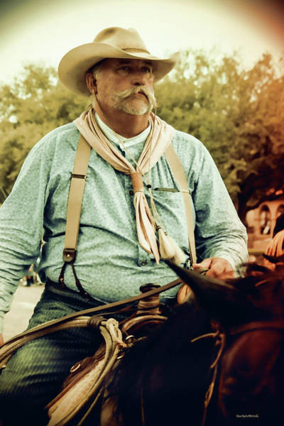 Photograph - The Cowboy by Roberta Byram