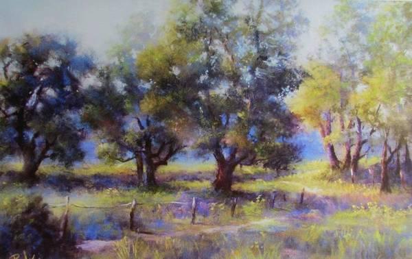 Pastel - Cattlewalk by Bill Puglisi