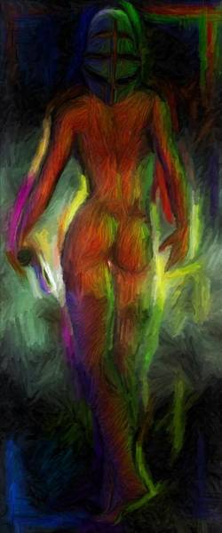 Catwalk Into The Light Art Print