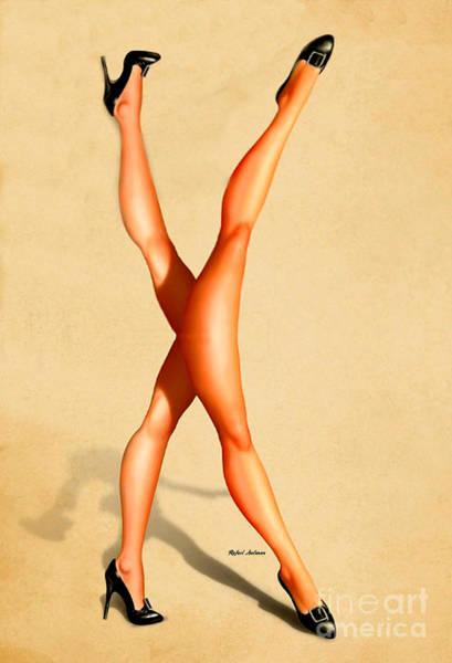 Digital Art - Catwalk by Rafael Salazar
