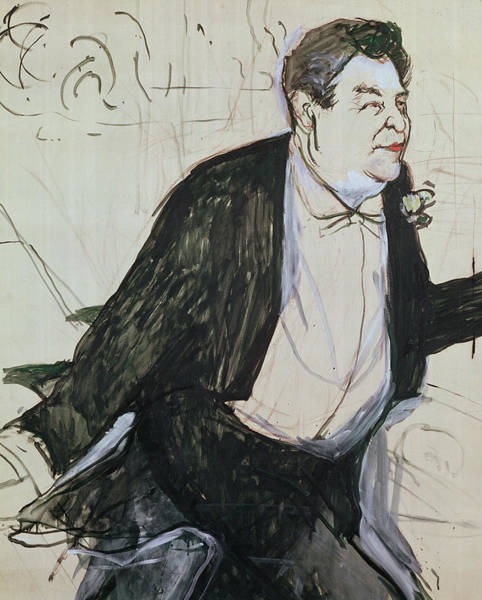 Wall Art - Painting - Caudieux by Henri de Toulouse-Lautrec
