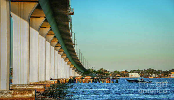 Photograph - Causeway And Boat by Tom Claud