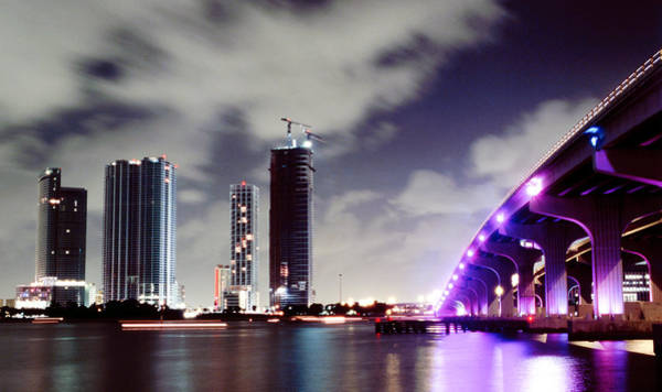 Photograph - Causeway Bridge Skyline by Gary Dean Mercer Clark